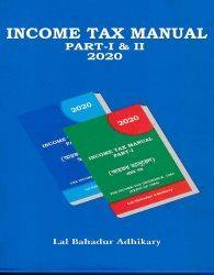 INCOME TAX MANUAL ,PART-1&11