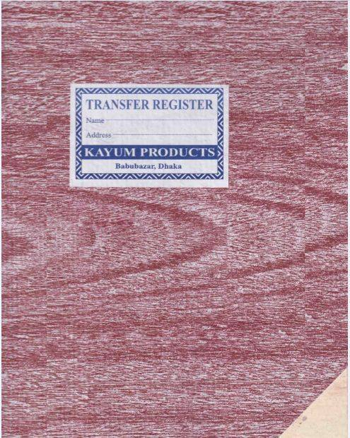 Register of Transfer of shares
